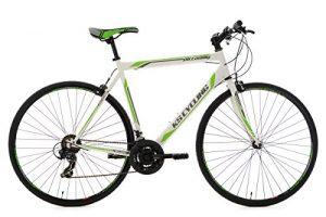 KS Cycling Fitnessbike Piccadilly RH 59 cm KS Cycling Fahrrad, Weiß-Grün, 28