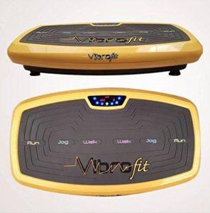 Vibrofit Vibrationsplatte Vibrationstrainer inkl. Bänder, Fernbedienung und Bluetooth !!!! bekannt aus TV