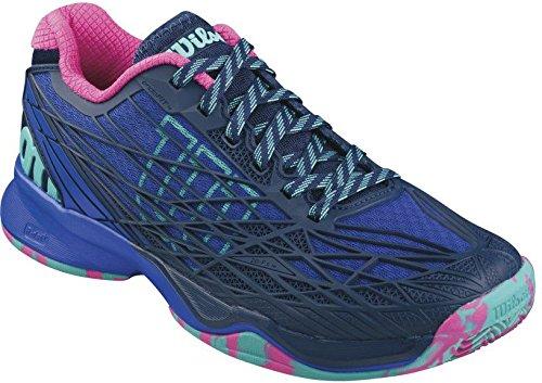 Wilson Damen Kaos Clay Court W Blue Iris Tennisschuhe