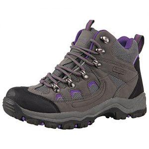 Mountain Warehouse Adventurer wasserdichte Damenstiefel Wanderschuhe Wanderstiefel Bergsteifel sportlich bequem leicht Outdoor Wandern Trekking