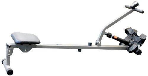 V-fit Fit-Start Rudergerät, hydraulisch, silberfarben/ Grau/ Schwarz