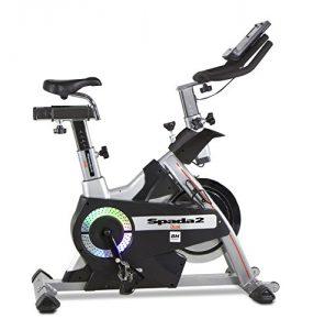 BH Fitness SPADA II DUAL WH9355 Indoorbike Indoorcycling – Anschluss von Smartphones/Tablets