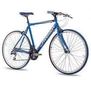 28″ RENNRAD FITNESS BIKE ALU FAHRRAD CHRISSON AIRWICK 2015 mit 24G ACERA 56cm blau matt – 71,1 cm (28 Zoll)
