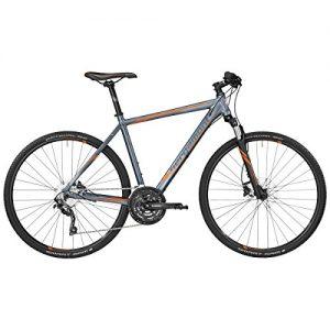 Bergamont Helix 7.0 Cross Trekking Fahrrad grau/orange 2017