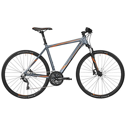 Bergamont Helix 7.0 Cross Trekking Fahrrad grau/orange 2017