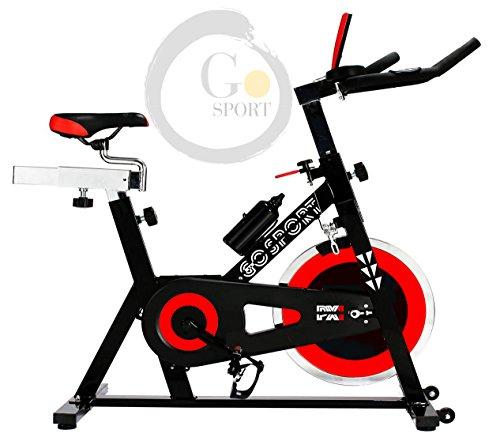 Fahrrad Indoor Spinning verstellbar Display LCD Lenkrad Trägheit 24kg–Gosport