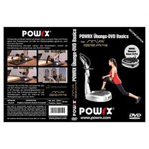 "Vibrationstrainings Übungs-DVD ""Basics"" – Vibrationsplatte – Vibration Plate – POWRX mit Mia Gray"