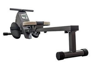Rudergerät BODYCOACH ROWER 28651 – Ruderzugmaschine mit magnetischem Widerstand, Computer und Bluetooth-Brustgurt kompatibel zu vielen Fitness-Apps, klappbar, Rudermaschine für Zuhause