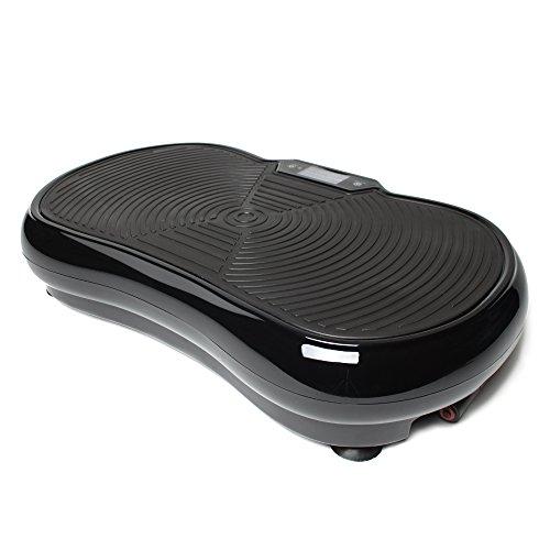 Bluefin Fitness 1000 Watt ultraflache Vibrationsplatte mit Bluetooth-Lautsprechern