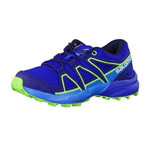 Salomon Speedcross J Lime Punch Reflecting Pond Hawaiian Ocean