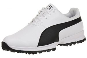 Puma Golf Grip Cleated Herren Golfschuhe 188662 01 white