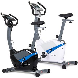 Heimtrainer RX500 Fitnessbike Trimmrad Ergometer verstellbarer Sattel schwungnasse 9 kg inkl. Computer Pulssensoren