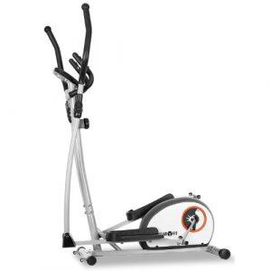 Klarfit Ellifit Basic 10 • Crosstrainer • Heimtrainer • acht Widerstandsstufen • Trainingscomputer • Zeitmessung • Geschwindigkeit • Kalorienverbrauch • Distanz • blau-weiß oder schwarz-grün oder weiß
