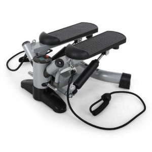 Klarfit Powersteps • Aerobic Stepper • Twist-Stepper • Fitness-Stepper • 2 Expander-Bänder • Trainingscomputer • Abschaltautomatik • Anzeige: Kalorien und Schrittzahl • bis 100kg • verschiedene Farben
