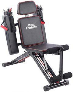 PEARL sports Fitnessgerät: 40in1 Ganzkörper Krafttrainer HT-640 mit 40 Übungen (Ganzkörper Trainer)