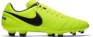 Nike Herren Tiempo Genio Il Leather FG Fußballschuhe, Grau, UK