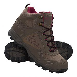 Mountain Warehouse Mcleod Damenstiefel Wanderschuhe Wanderstiefel Bergsteifel sportlich bequem leicht Outdoor Wandern Trekking