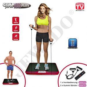 Gymform VIBROMAX Plus, Ganzkörper Profi Shaper und Vibrationsplatte – Original Produkt aus TV-Werbung