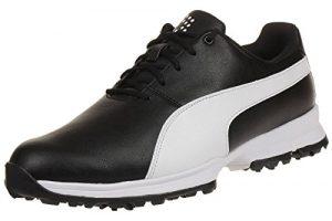 Puma Golf Grip Cleated Herren Golfschuhe 188662 02 black