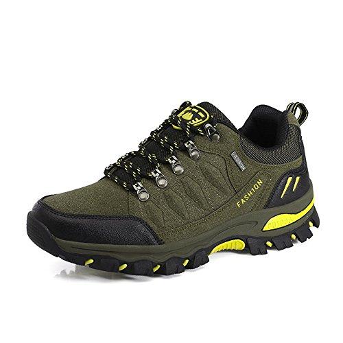 Zaone Unisex Wanderschuhe Outdoor Schuhe Leichte Bequeme Trekking Halbschuhe für Herren und Damen 35-45