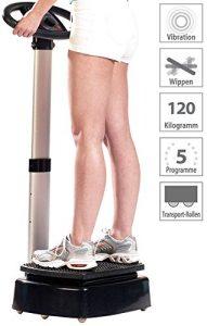 newgen medicals Vibrationsplatte: Vibrations-Home-Trainer WBV-420.H (Muskeltrainer Vibration)
