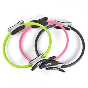 Zen Power Pilates Ring / Yoga Ring – Trainingsgerät für ein effektives Kraft- und Widerstandstraining, Circle mit 38cm Durchmesser – in verschidenen Farben