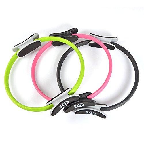 Zen Power Pilates Ring / Yoga Ring - Trainingsgerät für ein effektives Kraft- und Widerstandstraining, Circle mit 38cm Durchmesser - in verschidenen Farben