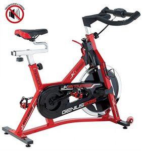 JKFitness Genius 535 Indoor Cycle mit Riemen-Antrieb