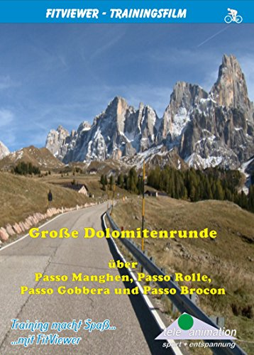 Große Dolomitenrunde - FitViewer Indoor Video Cycling Italien