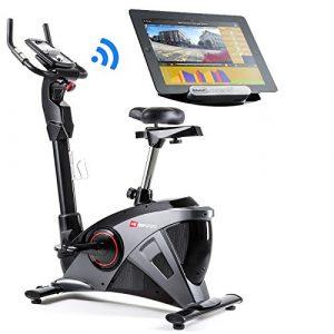 Hop-Sport Ergometer HS-090H Heimtrainer Bluetooth 4.0 Smartphone Steuerung 32 Widerstandsstufen Schwungmasse 13 kg belastbar bis 150 kg WATT Programm