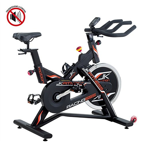 JKFitness Racing 555 Indoor Cycle mit Riemen-Antrieb