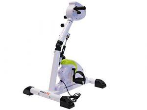 MAXOfit® Doppel Funktion Bike Elektro – Bewegungstrainer Greenline MF-24 Arm- und Beintraining, 65989