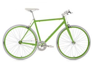 KS Cycling Fitnessbike Flip Flop RH 59 cm Fahrrad, Grün-Weiß, 28