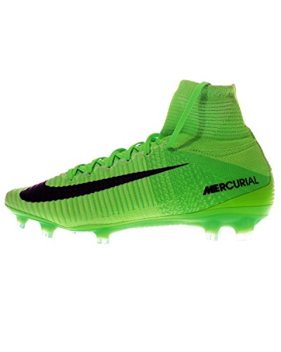 Nike Herren Mercurial Superfly V Fg Fußballschuhe, Schwarz