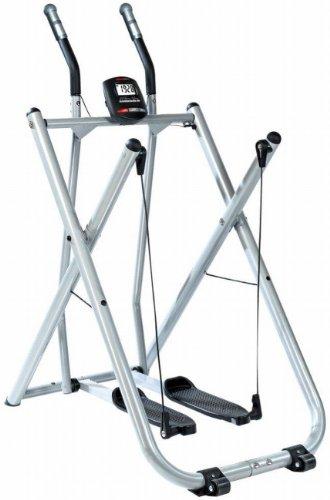 SportPlus Crosstrainer/Nordic Walker mit Trainingscomputer, bis 100 kg Benutzergewicht, klappbar, geprüft nach EN ISO 20957, SP-NW-004