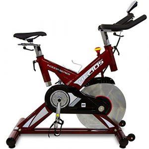 BH Fitness HELIOS H9178FD – Indoorbike/Indoorcycling – 22kg Schwunggewicht/ PoliV-Riemen/ LCD-Monitor
