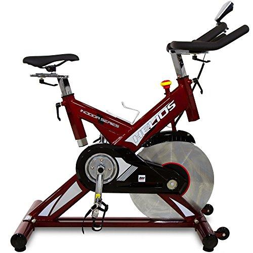 BH Fitness HELIOS H9178FD – Indoorbike/Indoorcycling - 22kg Schwunggewicht/ PoliV-Riemen/ LCD-Monitor