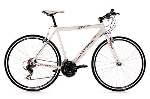 KS Cycling Fahrrad Fitnessbike Alu Lightspeed RH 54 cm, Weiß, 28, 275B