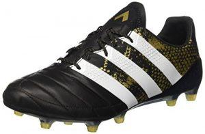 adidas Herren Ace 16.1 FG Leather Fußballschuhe, Schwarz