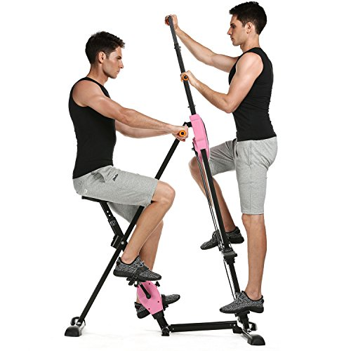 Campaig Sports 2in1 Stepper & Vertical Climber Fitness - Klettern - Kletterbewegungen Climbing Machine Vertikaler Mountainclimber