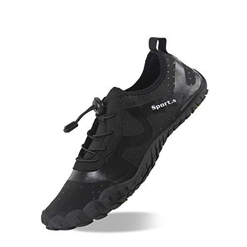 Herren Outdoor Fitnessschuhe Barfußschuhe Trekking Schuhe Badeschuhe Schnell Trocknend Rutschfest
