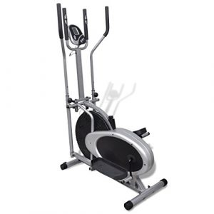 vidaXL Heimtrainer Ergometer FitnessStepper Walking Ellipsentrainer Crosstrainer