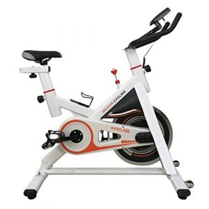 OUTAD CY-S401 Fitness Fahrrad Trainer LCD Display Fahrrad Heimtrainer Fitnessfahrrad Trainingsrad spinningbike,Indoorcycling Bikes bis 110 kg belastbar (Weiß)
