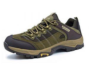 Knixmax Damen Wanderschuhe Hiking Schuhe Outdoor Anti-Rutsch-Sohle Wasserdicht Trekking-Wanderhalbschuhe