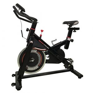 OUTAD CY-S401 Fitness Fahrrad Trainer LCD Display Fahrrad Heimtrainer Fitnessfahrrad Trainingsrad spinningbike,Indoorcycling Bikes bis 110 kg belastbar (Schwarz)