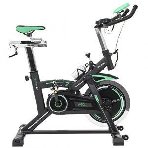 Cecotec Spinning-Fahrrad Extreme 25Pulsuhr. 25kg Profi Lenkrad Trägheit… LCD Display. Widerstand Variable. Stabilisatoren. silencefit.