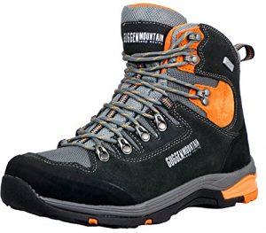 GUGGEN Mountain PM026 Herren Trekking-& Wanderstiefel Wanderschuhe Trekkingschuhe Outdoorschuhe Wasserdicht mit Membran und Wildleder