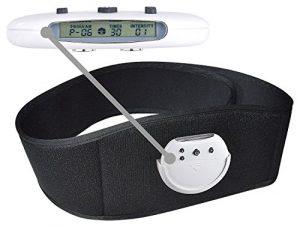 Newgen Medicals Massagegürtel: EMS-Muskeltrainings-Gürtel V3 mit 10 Trainingsprogrammen (Bauchmuskel Gürtel)