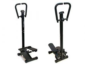 MAXOfit Home Stepper MF-3 | Fitness Ministepper mit Haltegriff und Computer | TÜV/GS zertifizierter Swing-Stepper