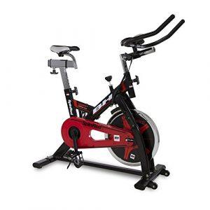 BH Spinred indoorbike – 22 kg Schwungrad – Kettenübertragung – schwarz rot – H9132